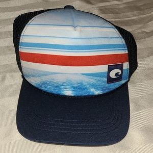 Costa Del Mar Trucker Mesh Baseball Hat